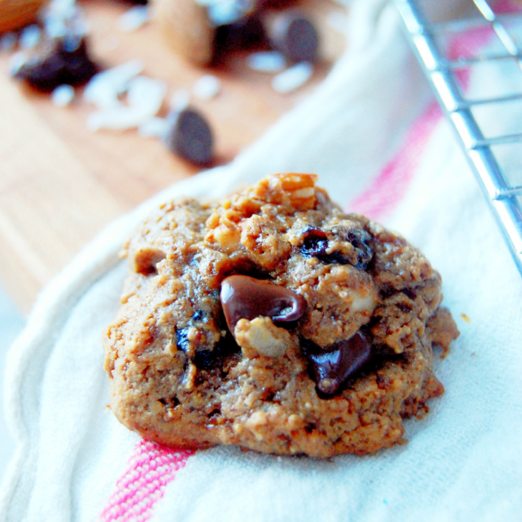 5 Ingredient Trail Mix Cookie   uprootfromoregon.com