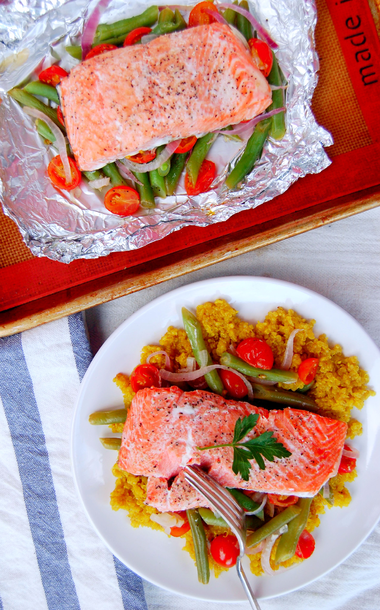 Foil packet salmon for Fish foil packets oven