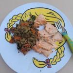 Jessica Levinson Nutrioulicious Salmon | uprootfromoregon.com