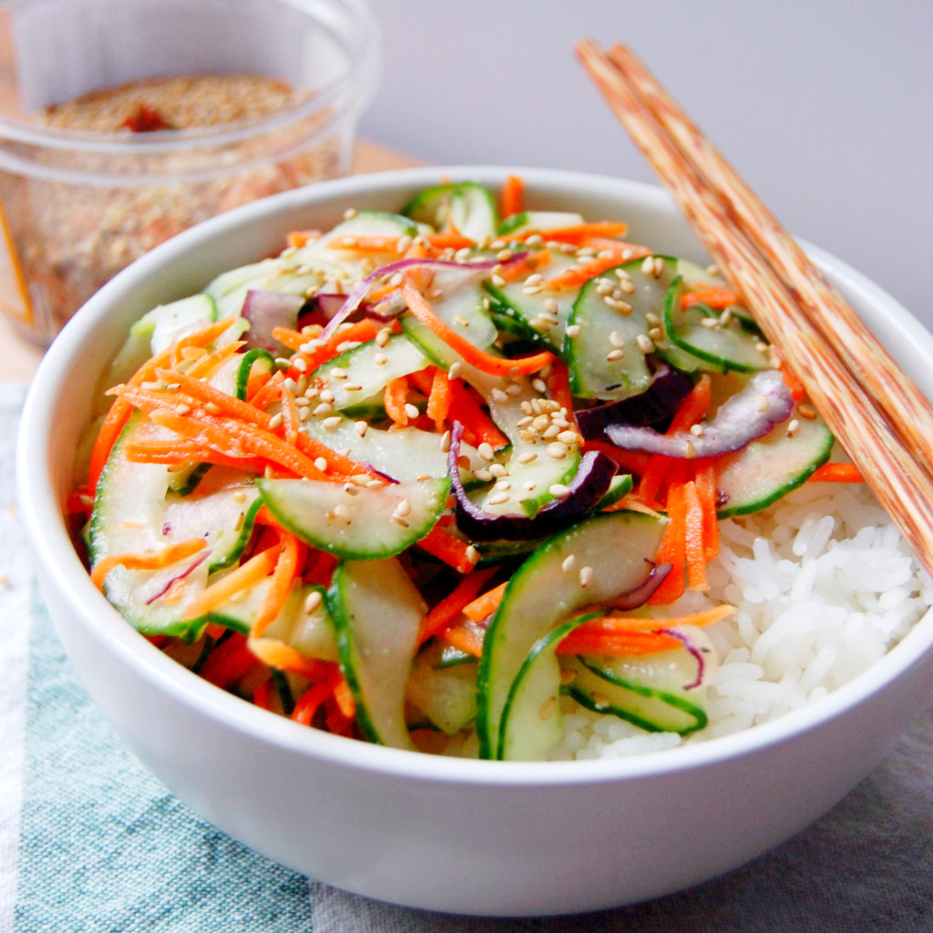 Salt-Massaged Cucumber With Miso And Sesame Recipes — Dishmaps