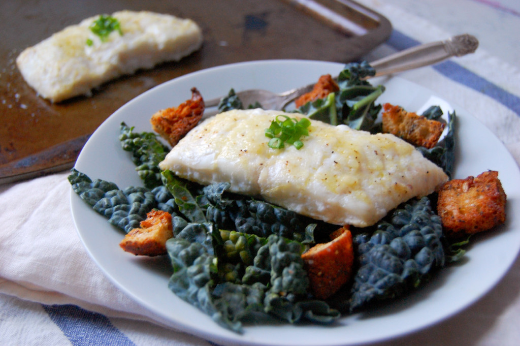 A simple Lemon Garlic Haddock recipe for a quick high-protein meal | uprootformoregon.com