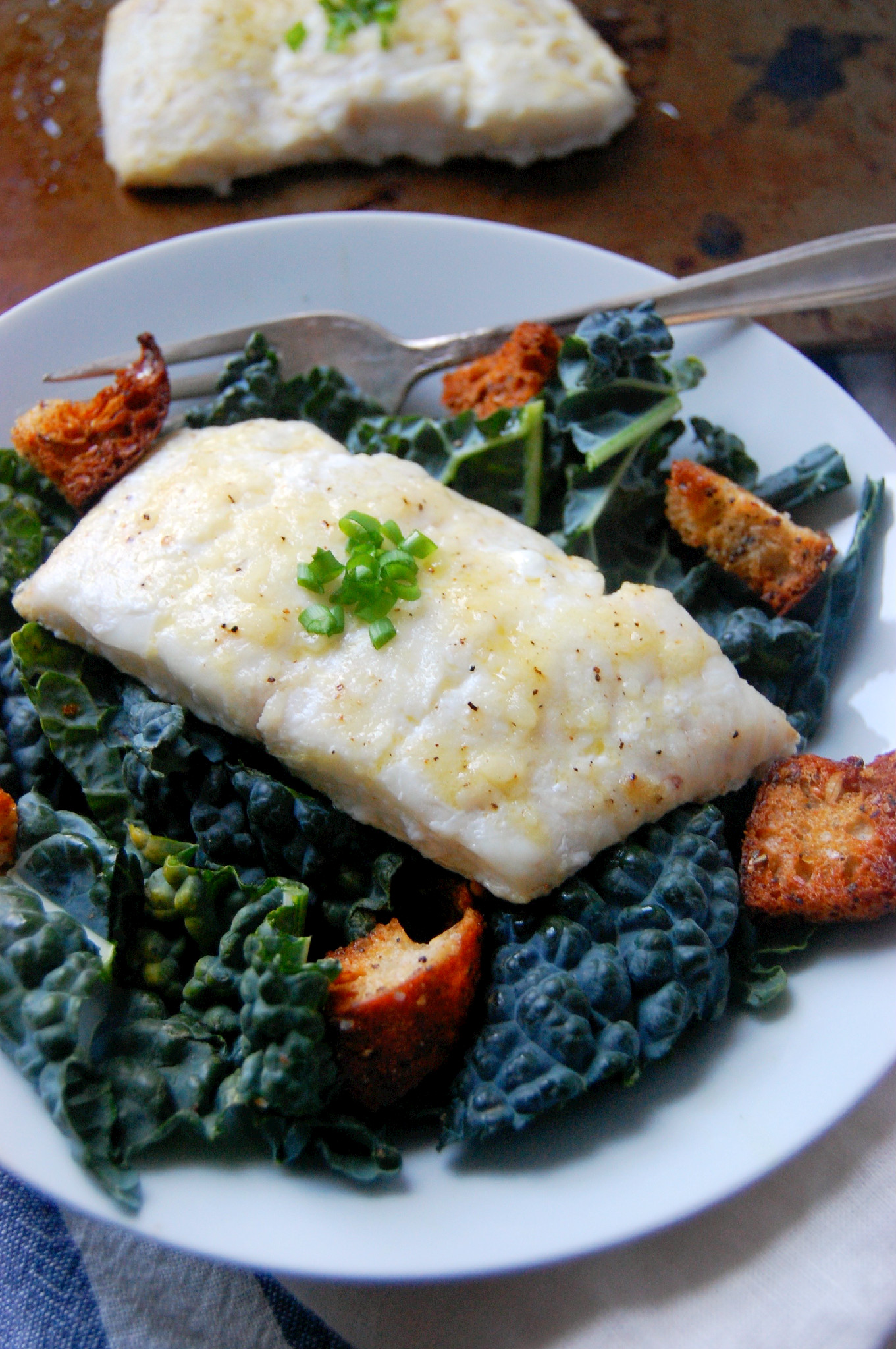 Simple Lemon Garlic Haddock - a perfect 30 minute, high-protein meal | uprootkitchen.com