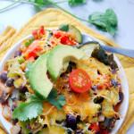 Mexican Veggie Quinoa Bake