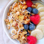 Lemon Coconut Poppy Seed Granola