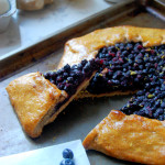 Rustic Wild Blueberry Whole Wheat Tart