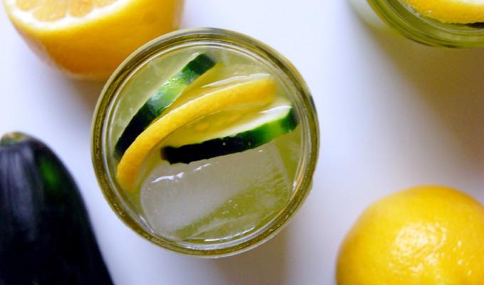 Cucumber Honey Lemonade