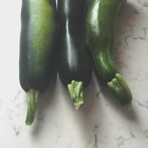 Garden picked zucchini | uprootfromoregon.com