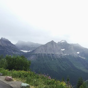 Going To The Sun Road, Glacier National Park | uprootfromoregon.com