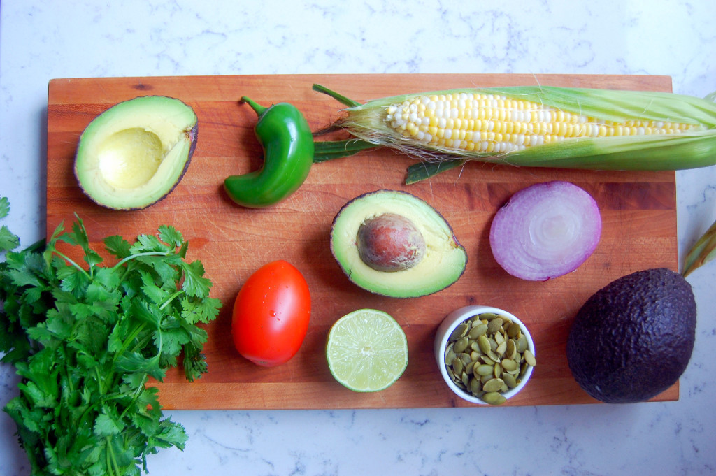 Guacamole Ingredients! | uprootfromoregon.com