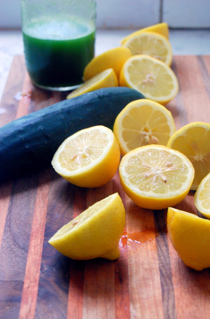 Ingredients for Cucumber Honey Lemonade | uprootfromoregon.com