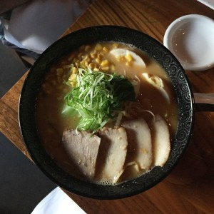 Miso Ramen from Izakaya Den - Denver, CO | uprootfromoregon.com
