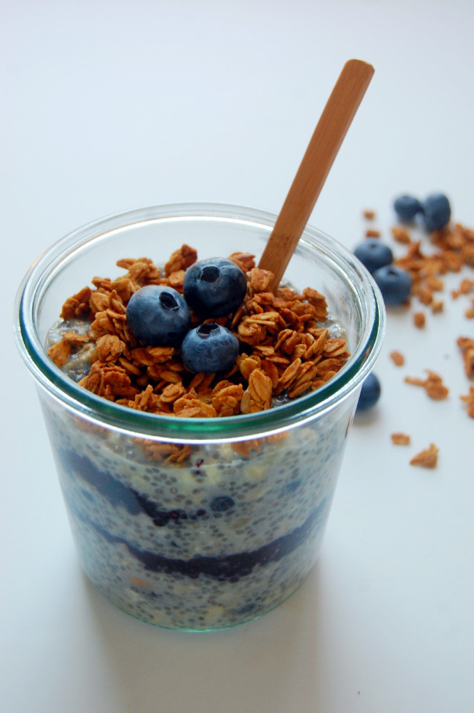 After making my 5 Ingredient Vegan Chocolate Banana Overnight Oats a ...