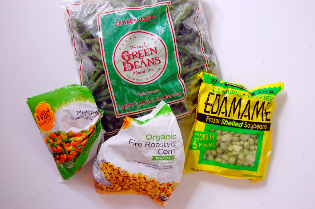 My Freezer Essentials - the veggies I keep on hand for healthy meals | uprootfromoregon.com