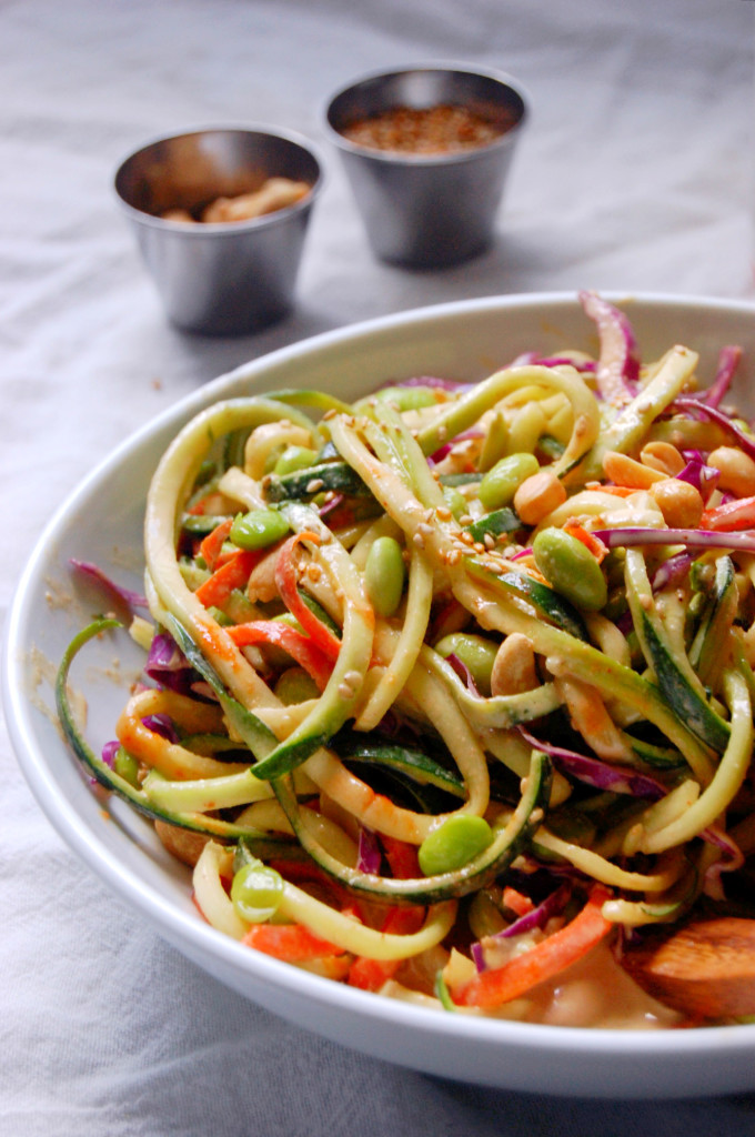 Carrot Salad With Cabbage And Peanuts Recipe — Dishmaps