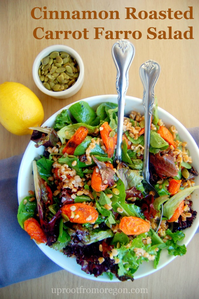 ... Roasted-Carrot-Farro-Salad-combines-roasted-and-sweet-flavors-with