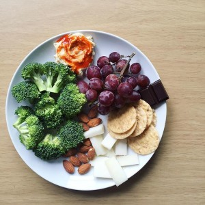 Simple Snack Lunch | uprootfromoregon.com