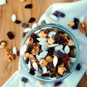 Pumpkin Seed Trail Mix, a great fall hiking snack or snack mix
