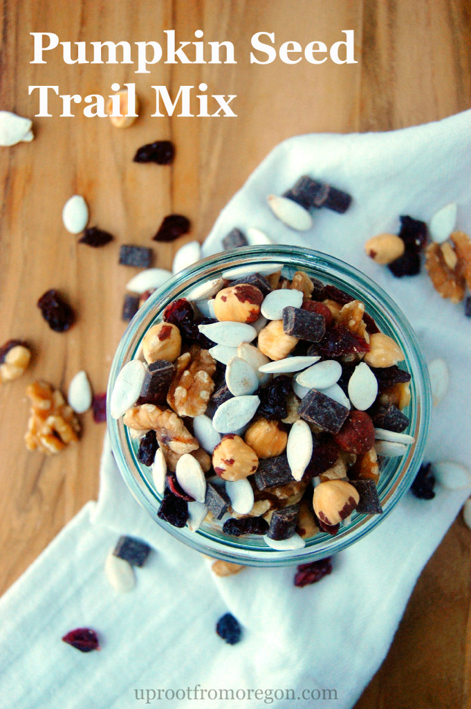Pumpkin Seed Trail Mix, a great fall hiking snack or snack mix for ...