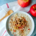 Single Serving Apple Pie Overnight Oats
