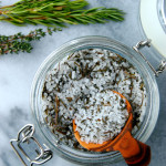 Edible DIY: Garden Herb Salt