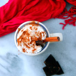 Decadent Dark Hot Chocolate for Two