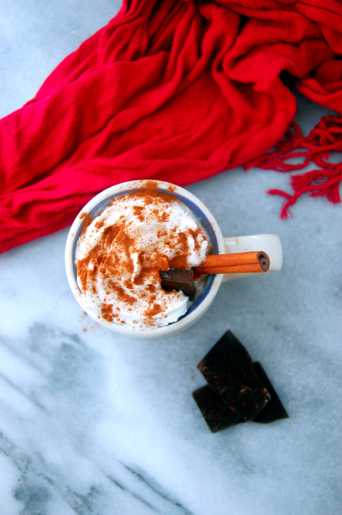 Decadent dark hot chocolate recipe for two