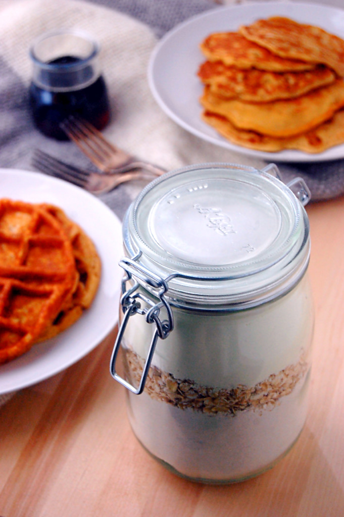 Edible DIY Gift Idea - Wholegrain Buttermilk Pancake Mix