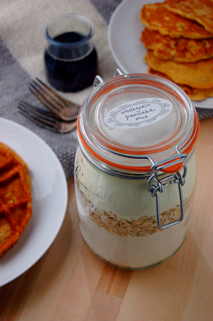 Homemade Wholegrain Buttermilk Pancake Mix
