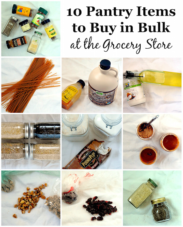 10 Pantry Items to Buy in Bulk at the Grocery Store | uprootkitchen.com