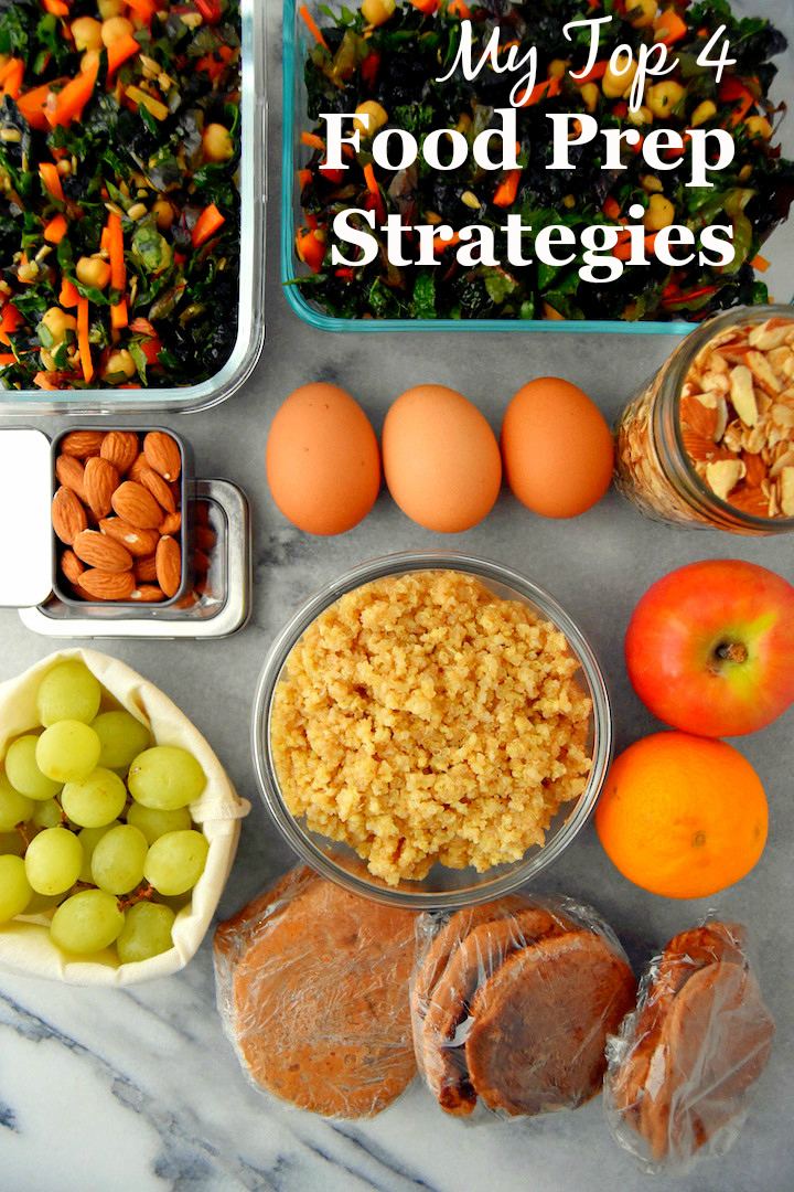 Click through to this post to see my Top Meal Prep Strategies for busy weeks | uprootkitchen.com