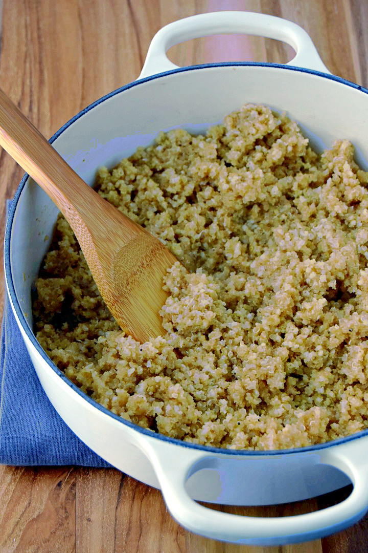 Mixed batch of grains with millet, quinoa, and amaranth | uprootkitchen.com