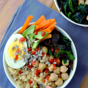 Simple and wholesome Veggie Grain Bowls, perfect for weekday lunches | Uproot Kitchen
