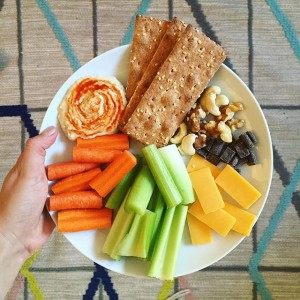 Snack Plate Lunch | uprootkitchen.com