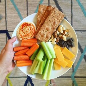 Snack Plate Lunch | uprootkitchen.com
