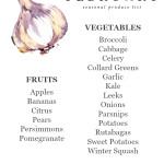 February Seasonal Produce List