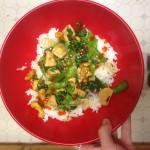 Lara Cashew Chicken Stir Fry | uprootkitchen.com