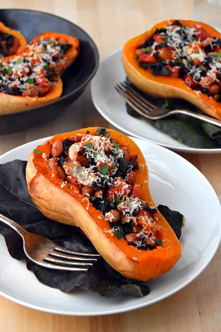 Mexican Stuffed Butternut Squash | uprootkitchen.com