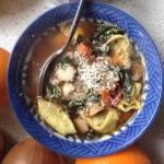 Simone - Kale Tortellini Soup | uprootkitchen.com