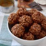 Crispy Chocolate Peanut Butter Balls