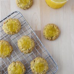 Sunflower-Oat Thumbprint Cookies with Meyer Lemon Curd