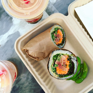 Sushirrito and Bubble Tea | uprootkitchen.com