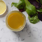 How To: My Basic Salad Vinaigrette