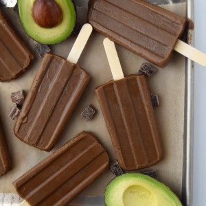 Cold and creamy, these Avocado Fudge Pops are a decadent dairy-free frozen chocolate treat, with just 6 ingredients | uprootkitchen.com