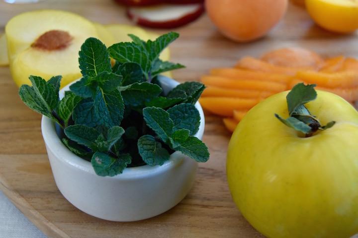 Fresh Backyard Mint | uprootkitchen.com