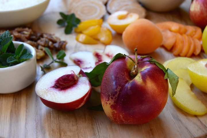 White Nectarine | uprootkitchen.com