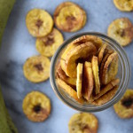 Baked Green Plantain Chips | uprootkitchen.com