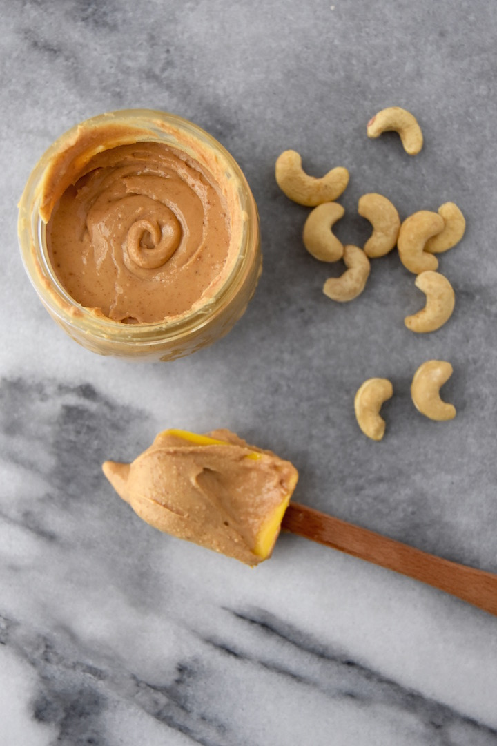 This Cinnamon Roasted Cashew Butter is a simple nut butter full of warming flavors