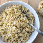 Roasted Garlic Quinoa