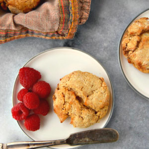 Rustic Whole Wheat Biscuits