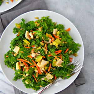 chopped kale salad | uprootkitchen.com